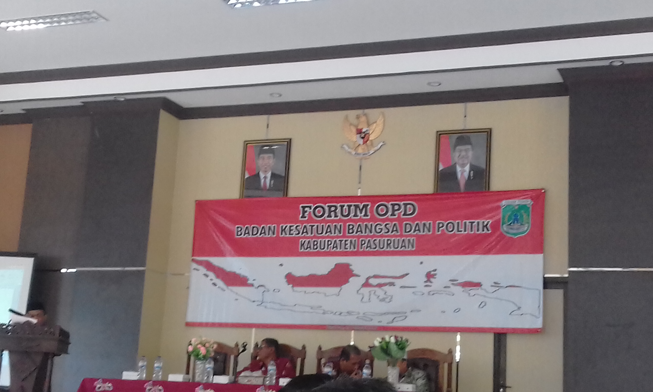 PC IPNU Bangil usulkan 10 point pada FORUM OPD BAKESBANGPOL KAB PASURUAN